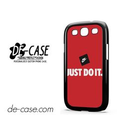 Nike Just Do It DEAL-7852 Samsung Phonecase Cover For Samsung Galaxy S3 / S3 Mini