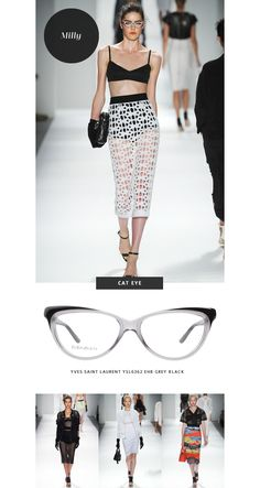 Top 6 Glasses Trends: New York Fashion Week