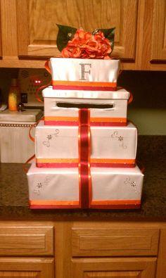 Wedding card box for my wedding!