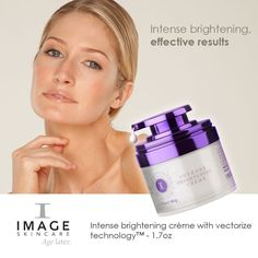 Intense Brightening Creme from the Iluma range Cellular Level, Image Skincare, Anti Aging Skin Care, My Images, Range, Products, Cookers