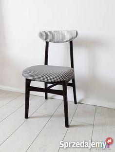 krzesło tapicerowane TYP 200-190 projektu Prof. Rajmund Teofil Hałas Producent: Paczkowska Fabryka Mebli