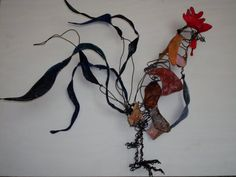 El Gallo- wire and paper Sculpture Projects, Wire, Culture, Paper, Ideas, Design, Thoughts
