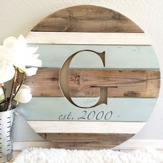 Handcrafted modern rustic home decor and personalized monogrammed round wooden home decor plaques. Hand selected gift ideas for the special occasions in your life including rustic wall art decor, primitive decor, wooden home decor, and wooden rounds! Rustic Wall Art, Rustic Walls, Wall Art Decor, Rustic Decor, Farmhouse Decor, Primitive Decor, Rustic Wood, Unique Home Decor, Home Decor Items