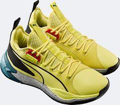 Puma Introduces the Uproar 'Spectra' - WearTesters Pumas Shoes, Men's Shoes, Zapatillas Nike Jordan, Girls Messenger Bag, Spectrum, Footwear, Pairs, Adidas, Yellow