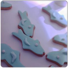 #fishing #lovely #cookies #tiffany and #teal!