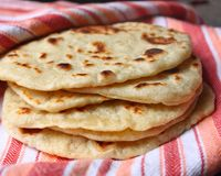 Homemade Garlic Flat bread - My husband loved this recipe.  It went together very quickly, worked well for dinner and then flat bread sandwiches for lunch the next day.