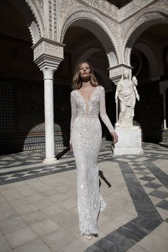 Trendy Wedding Dresses : Check out the Alon Livne Trunk Show at Les Trois Soeurs Bridal in London Fairy Wedding Dress, Wedding Dress Sleeves, Long Sleeve Wedding, Lace Dress, Alon Livne Wedding Dresses, Bridal Dresses, Wedding Gowns, Bridesmaid Dresses, Bridesmaid Invitations