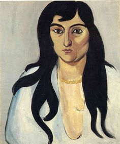 Laurette with Long Locks - Henri Matisse