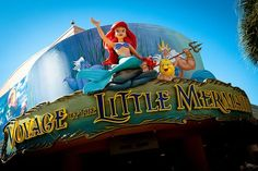 Voyage of the Little Mermaid, Hollywood Studios, Disney World