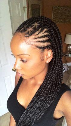 Box Braids, cornrows, hair, natural hair