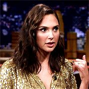 Gal Gadot on The Tonight Show with Jimmy Fallon, 2017.