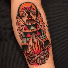 Arrow Head Tattoos, Left Arm Tattoos, Mom Tattoos, Body Art Tattoos, Axe Tattoo, Claw Tattoo, Tattoo Ink, Western Tattoos, Native Tattoos