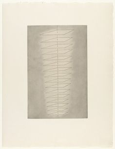 Louise Bourgeois. Untitled, plate 4, state III, variant, from The Puritan. (1990).  (Prints executed 1989-1990; gouache additions 1993).