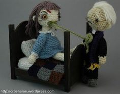Crochet Exorcist-   I cannot believe someone made this! LOL!