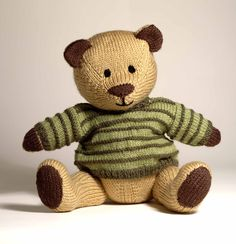 """Jacob from """"Knitted Toys"""" by Jody Long"""
