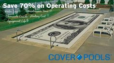 Save 70% on Pool Operating Costs with a Pool Cover