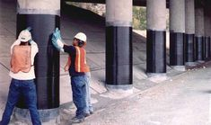 FRP concrete strengthening systems have proved worthwhile in the strengthening of damaged concrete structures, masonry, and water tank repairs. Concrete Column, Concrete Structure, Hotel Floor Plan, Square Columns, Civil Construction, Concrete Materials, Compressive Strength, Properties Of Materials, Reinforced Concrete