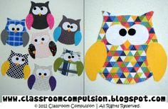 Owl cutouts.