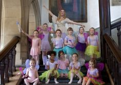 Ballet girls' calendar a boost for charity charities