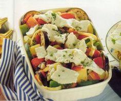 groentenschotel met feta en pijnboompitten