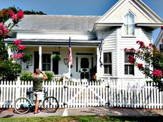 One of the many great historic homes in Beaufort, North Carolina. (Photo by David Cartier) North Carolina Coast, Living In North Carolina, Atlantic Beach, Beach Camping, Blue Ridge Mountains, Island Life, Historic Homes, Victorian Homes, Beautiful Places