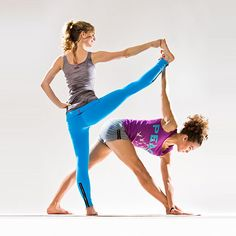 Hard Tail Partner Yoga PosesPartner