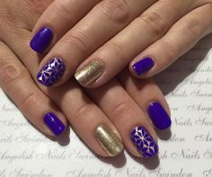 Gorgeous #nails by Angie Gunter‎ using #lecente #Sand Ultra Fine #Glitter - we love these! #lovelecente