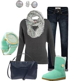 """""""Mint"""" by brianaa-x on Polyvore"""