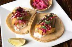 How Make Tacolicious' Baja-Style Tacos At Home: Bookmark this one.