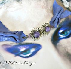 We'll gather Lilacs and Amethysts by VickiDianeDesigns on Etsy, $28.00