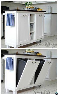 39 The Best Small Kitchen Remodel Ideas - Are you planning to sell your home? Then it is important that you give enough focus to small kitchen remodeling ideas. The kitchen in any home is a hu. Diy Kitchen Decor, Diy Kitchen Cabinets, Kitchen Furniture, Kitchen Storage, Kitchen Ideas, Kitchen Remodeling, Kitchen Countertops, Floors Kitchen, Kitchen Upgrades