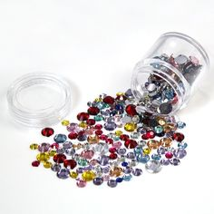 Prefect Summer 520pcs 3d nail art Rhinestone Decoration Manicure Tips Acrylic Mix Color Mix Size *** Read more reviews of the product by visiting the link on the image.