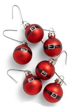 cute santa ornaments