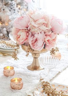 Find artificial flowers for your DIY floral arrangement or wedding flower bouquet, like this pretty pink silk peony flower. It is perfect to bring a romantic element to your designs. Light Pink Tall x Wide Bloom Silk Gold Centerpieces, Gold Vases, Vintage Wedding Centerpieces, Pink Wedding Decorations, Rose Gold Centerpiece, Rose Gold Table Decorations, Christening Table Decorations, Rose Gold Vase, Elegant Party Decorations