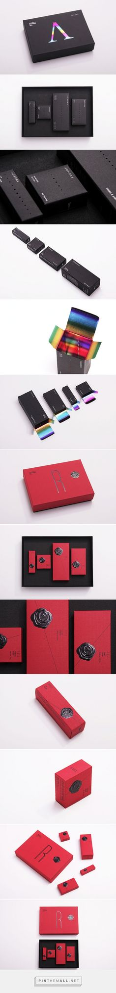 Aurora & Ross #packaging by BLOW - http://www.packagingoftheworld.com/2014/12/aurora-ross.html