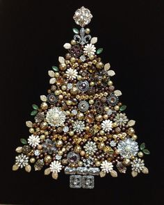 100 Best Crafty Christmas Jewelry Tree Images Diy Christmas