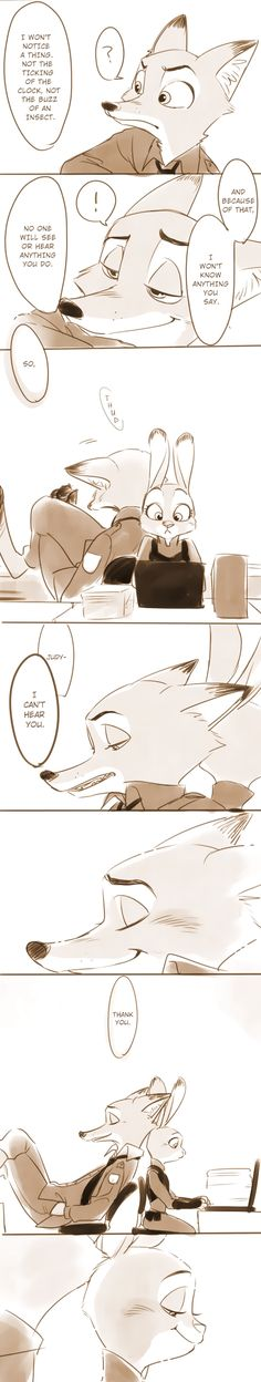 Comic: There For You (Original by Konoya) - Zootopia News Network