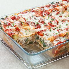 Ever made a vegetable lasagna that wasn't laden with watery vegetables and dry, grainy patches of cheese? Neither had we.