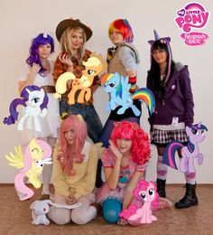 @Patty Jean My Little Pony: Friendship is Magic I am debating about dressing as a pony.