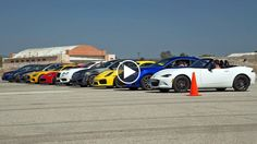 MotorTrend did it again. They've gathered up ten of the nicest sports cars and had a drag race. Dubbed the World's Greatest Drag race 5, this year's effort