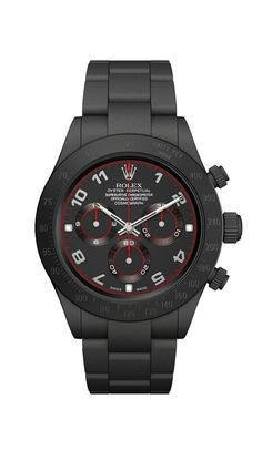 Rolex Daytona Matte Black