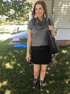 Shop your closet by Jaymie Ashcraft Skater Skirt, Cool Style, Skirts, How To Make, Fun, Leather, Closet, Shopping, Beauty