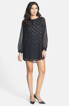 #Black Swan               #Dresses                  #Black #Swan #'Finnona' #Foiled #Chiffon #Shift #Dress                        Black Swan 'Finnona' Foiled Chiffon Shift Dress                               http://www.snaproduct.com/product.aspx?PID=4995659