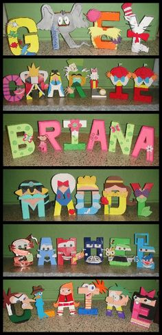 Win 3 hand painted letters FREE from Gunner's Nook at Real Moms Real Views! ends 7/2/13