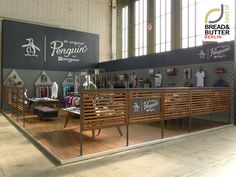 Original Penguin Bread & Butter Berlin 2013 stand by Yum Design