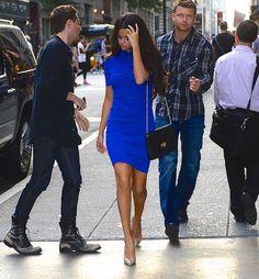 Elle's Fashion Boudoir : Selena Gomez in Vionnet   New York City