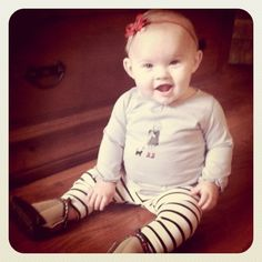 baby style...just the cutest little girl in the world!