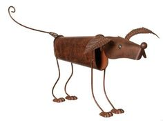 Wilco Imports Metal Dog with Head and Tail on Springs by Wilco Imports. $26.28. Metal Dog, with Head and Tail on Springs that Bob up and Down, 11-1/2-Inch Tall. Metal Dog, with Head and Tail that are on Springs and Bob up and Down, 11-1/2-Inch Tall