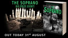 You are invited to the launch party for The Soprano - A Haunting New Supernatural Thriller!