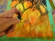 that artist woman: How to Paint Abstract Autumn Leaves High School Art, Fall Is Here, Halloween Art, Learn To Paint, Elementary Art, Painting Tips, Watercolor Paintings, Watercolor Ideas, Autumn Leaves